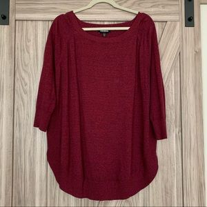 Express Tunic length Sweater